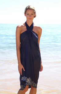 Photo of Black baydress halter