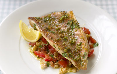 Photo of Grilled sea bream with spice rub from Atul Kochhar