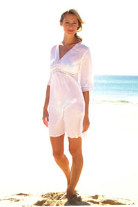 Photo of White Cotton Kaftan