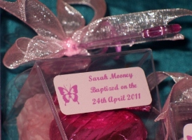 Picture of christening favours