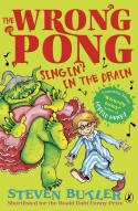 Image of book cover of The Wrong Pong Singin in the Drain